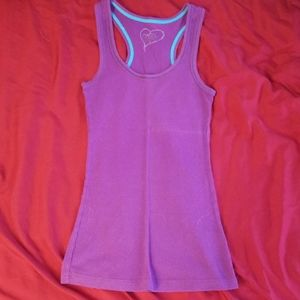 5/$20 Dark purple racerback tank top